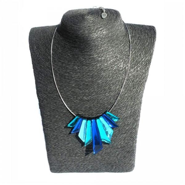 Halskette Riviera blau